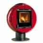 Печь-камин La Nordica Fireball (цвет Bordeaux)