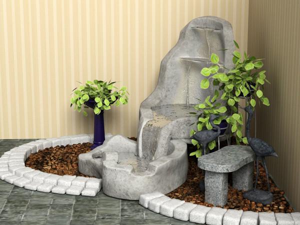 Сделать фонтан домашний своими руками